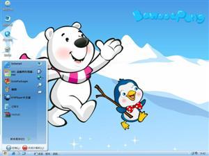 卡通熊电脑主题
