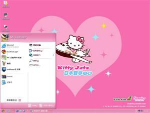 Hello Kitty电脑主题