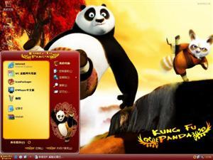 功夫熊猫电脑主题