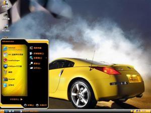 三菱超酷跑车电脑主题