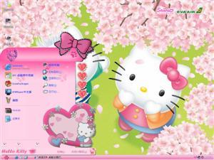 Hello KittyⅢ电脑主题