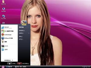 Pink Vista电脑主题
