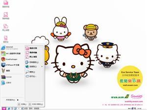 Hello KittyⅣ电脑主题