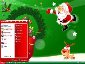 欢乐圣诞2009电脑主题