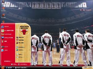 NBA公牛队电脑主题