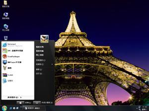法国巴黎铁塔电脑主题