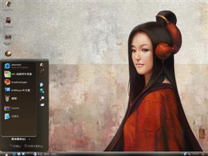 中国古色美女电脑主题