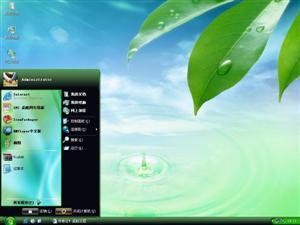 绿色Vista电脑主题