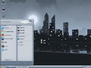 城市夜景电脑主题
