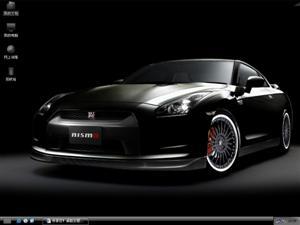 Nissan GT-R日产跑车电脑主题