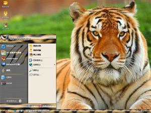 虎虎生威电脑主题