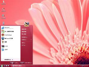 粉色典雅Vista电脑主题
