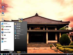 日本万亿(佛教寺)电脑主题