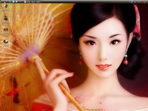 中国古代美女电脑主题