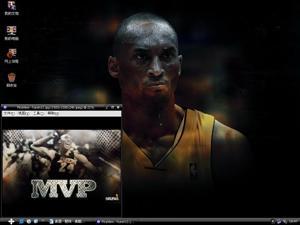 NBA湖人队科比拜仁(高比)电脑主题