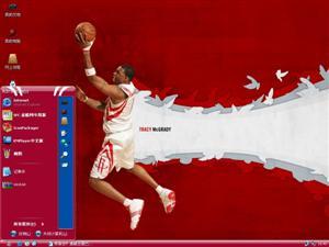 NBA火箭队麦格雷迪(麦蒂)电脑主题