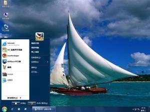 加勒比海风景电脑主题