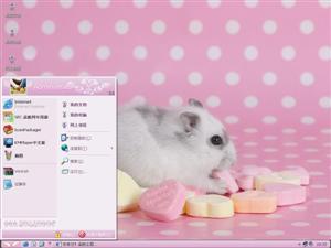 可爱小老鼠电脑主题