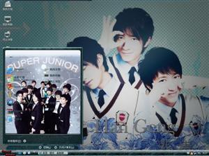 Super Junior-韩庚电脑主题
