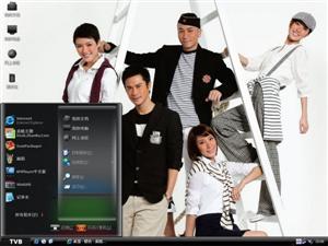 香港TVB娱乐明星电脑主题