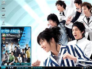 Super Junior明星组合电脑主题
