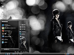 Super Junior-金丽旭电脑主题