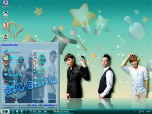 BigBang韩国明星电脑主题