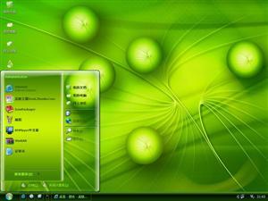 绿色能源电脑主题