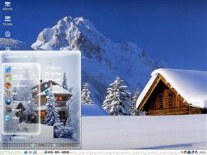 深冬雪景电脑主题
