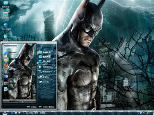 游戏之蝙蝠侠电脑主题