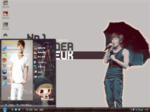 Super Junior-李特电脑主题