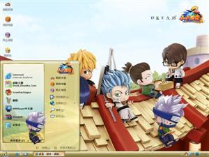 小小忍者游戏电脑主题