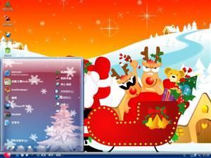欢乐圣诞2010电脑主题