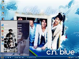 C.N.Blue电脑主题