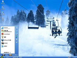 爱冬之旅电脑主题