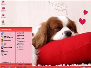 狗狗电脑主题