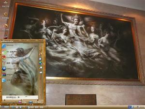 艺术油画电脑主题
