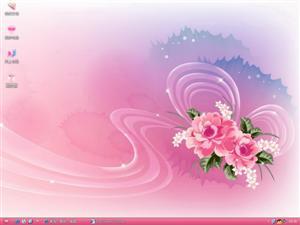 绚丽鲜花电脑主题