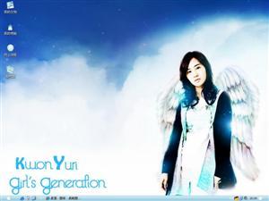 天使美女电脑主题