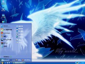 天使的世界电脑主题