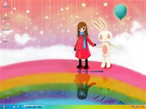 彩虹MM电脑主题
