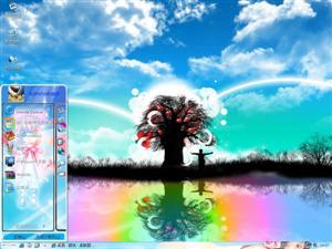 梦幻的卡通世界电脑主题