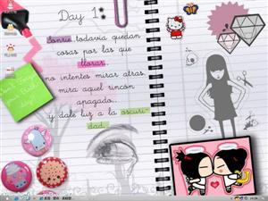 爱情日记电脑主题