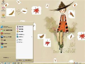 韩国插画电脑主题