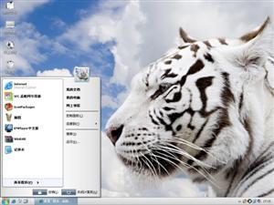 老虎Ⅱ电脑主题