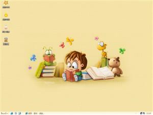 卡通宝儿电脑主题