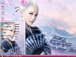 CG美女Ⅳ电脑主题
