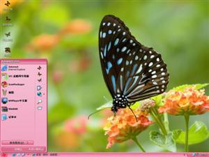 花中蝴蝶电脑主题