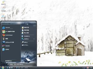 梦幻雪景电脑主题