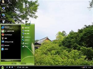 唯美中国庭园电脑主题